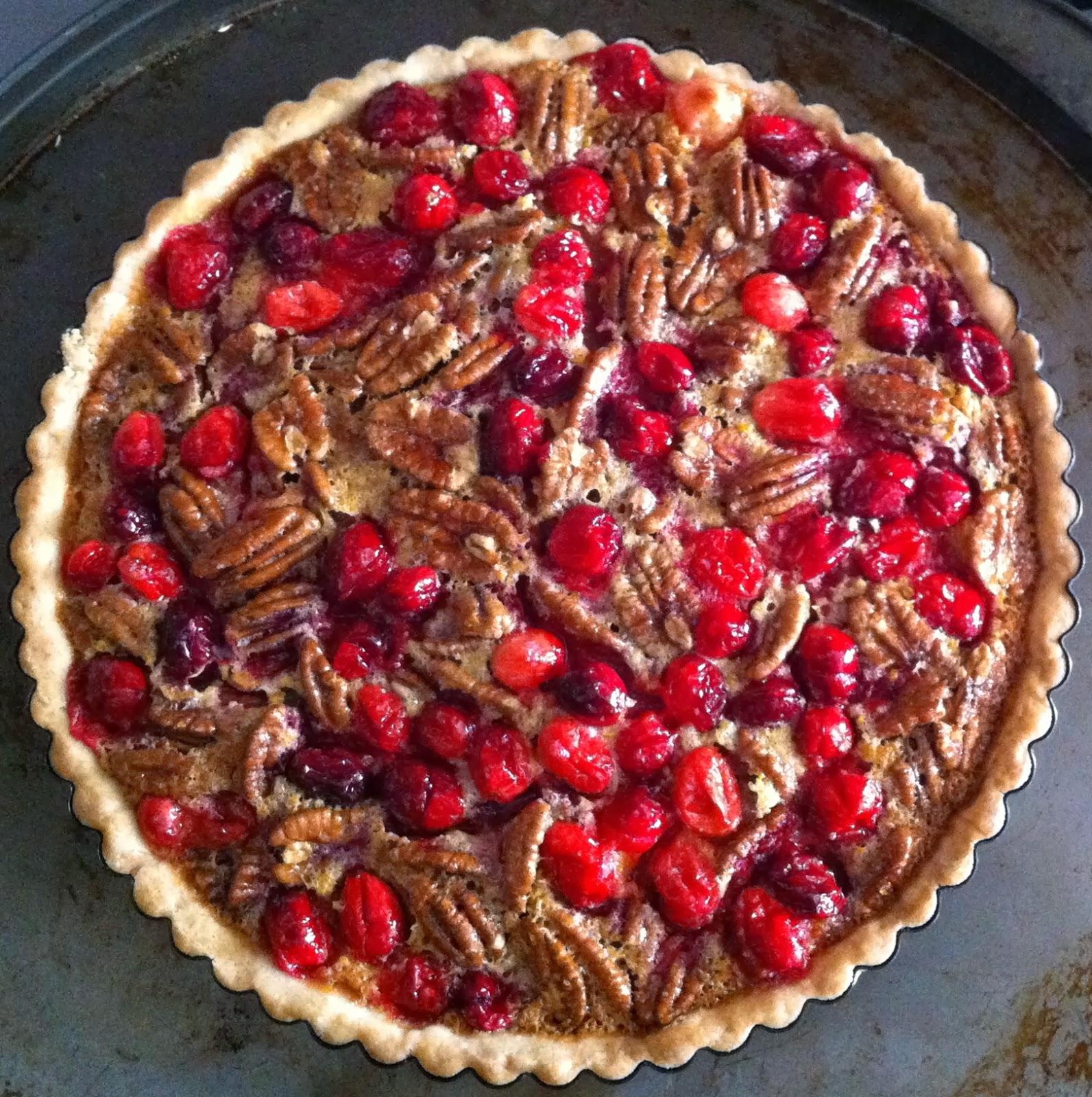SugarScape: Cranberry Pecan Tart
