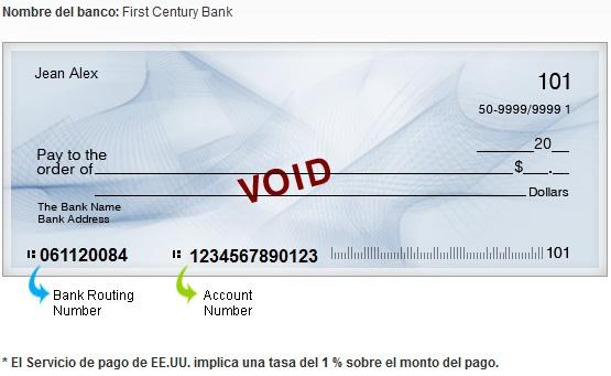 Numero De Ruta Banca Oriental: routing number numero de ruta del banco y el account number numero de