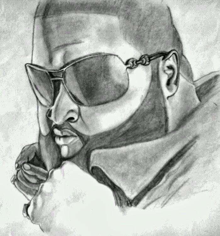Godofdraw: Rick Ross Drawings On Ms Paint