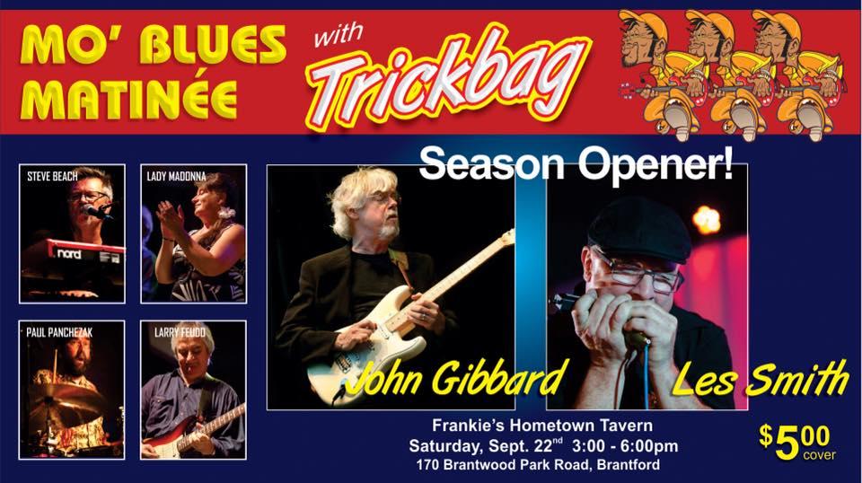 Trickbag w John Gibbard (Crowbar)+ Les Smith @ Corktown $5