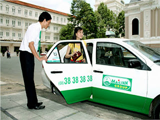 Taxi in Vietnam: Mailinh (Mai Linh)