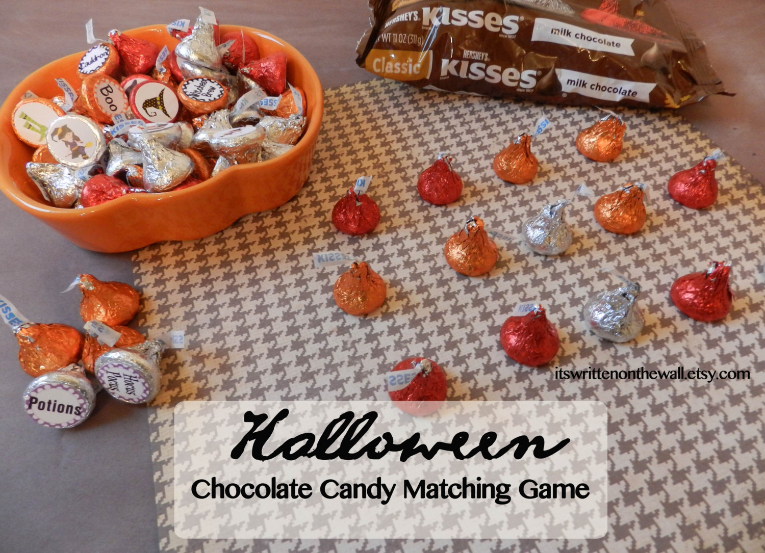 A Sweet Game for Halloween-Matching