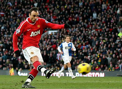 Dimitar Berbatov Manchester United transfer Paris Saint Germain