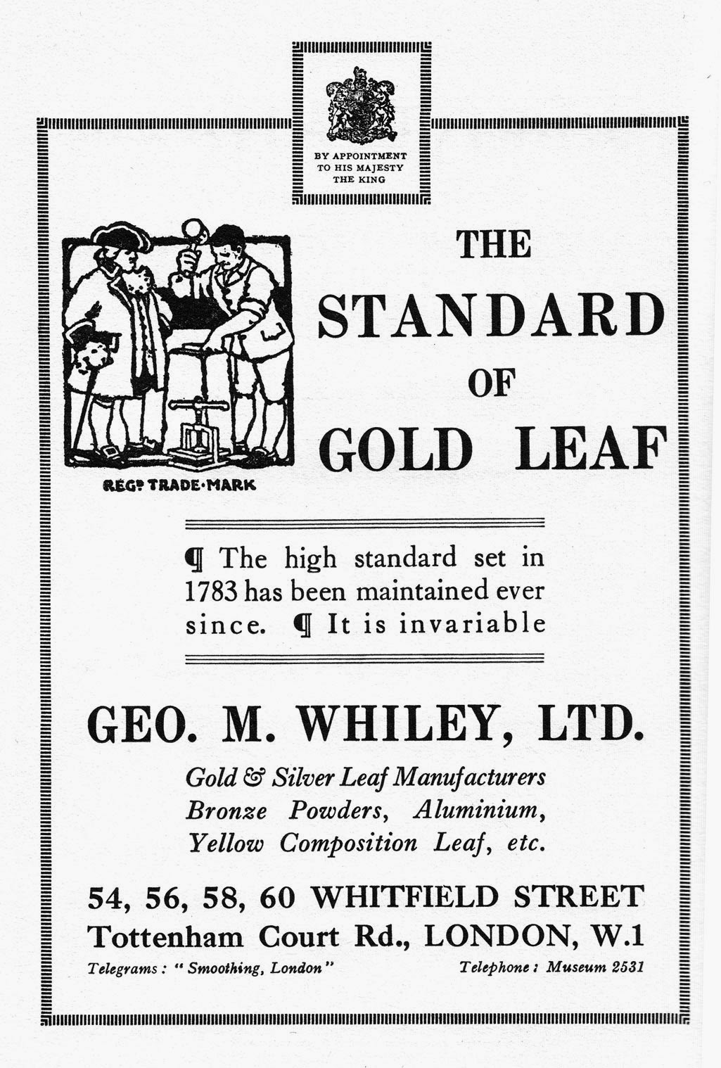 Progress is fine but its gone on for too long how to apply gold leaf from eg fooks plain and ornamental lettering a practical guide to ticket showcard writing sign writing and other forms of decorative lettering malvernweather Image collections