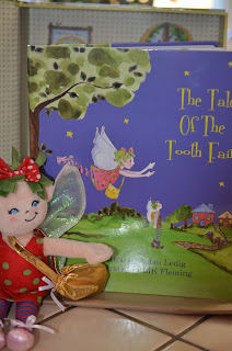 The Tale of the Tooth Fairy doll & book up close 1
