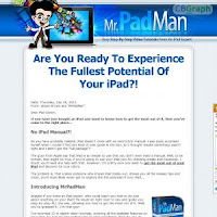 Mrpadman.com Ipad Video Lessons