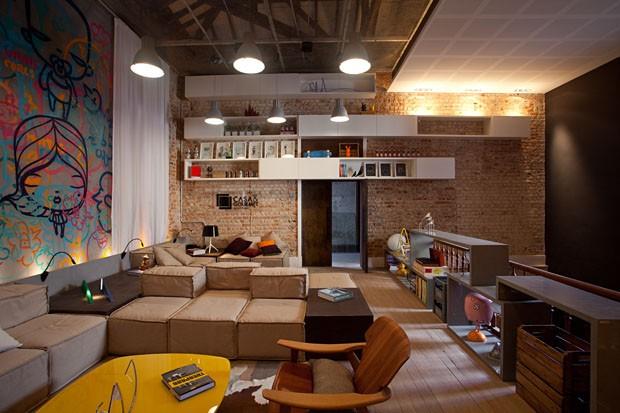 Sala De Estar Vogue ~ Sala de estar moderna projeto de Alexandre Gedeon eHugo Schwartz