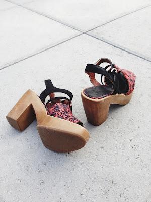 Rachel Comey Spade Peep-toe Platform Heels - ShopMyCloset