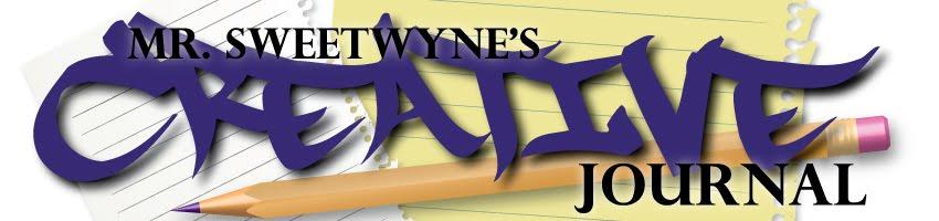Mr. Sweetwyne's creative journal