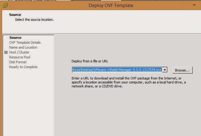VMware vShield Manager : Install and basic configuration of vShield ...