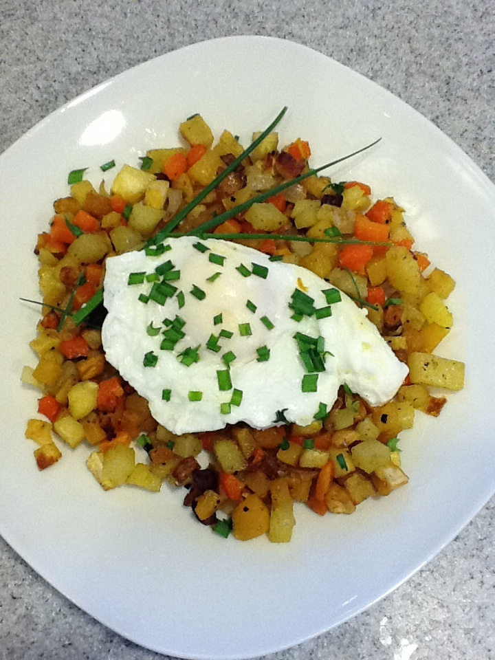 Silver Lake Farms: Oven Roasted Winter Vegetable Hash