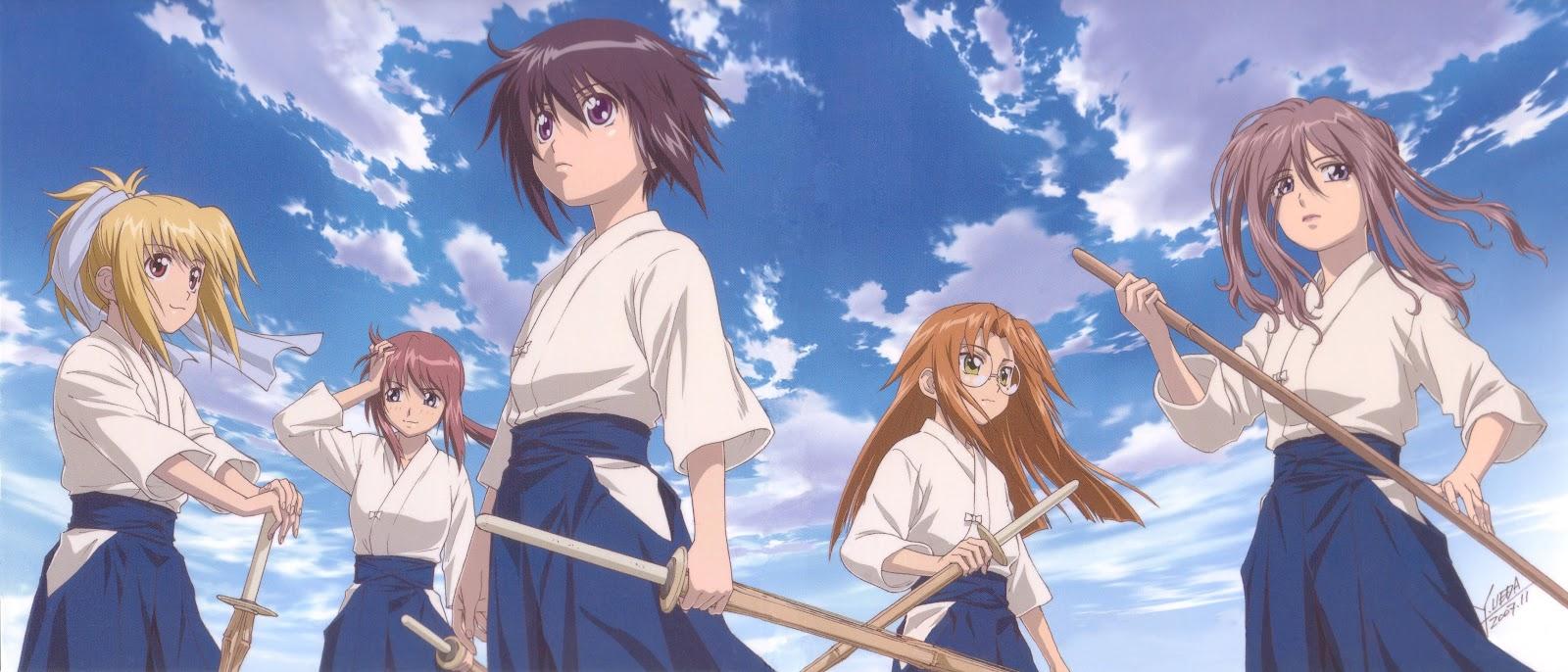 Kendo sword anime