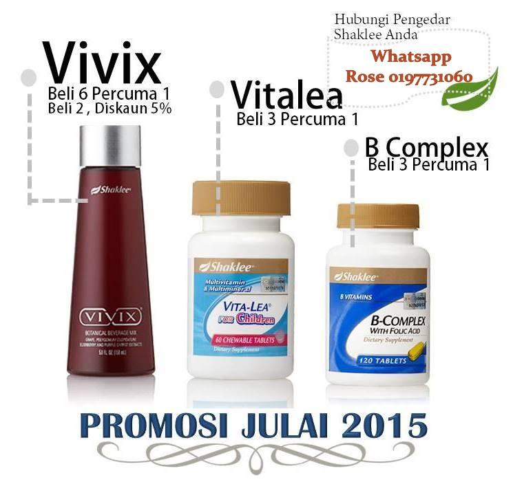 PROMOSI BERGANDA JULAI 2015