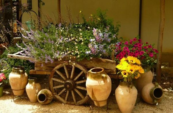 decorar meu jardim:AntigosModernos&Renovados: Amei essas camas pra decorar jardins