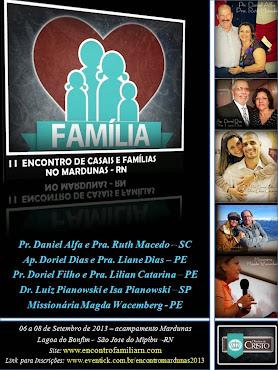 II ENCONTRO CASAIS E FAMÍLIAS NO MARDUNAS 2013