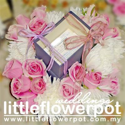 flowers silk wedding bouquet