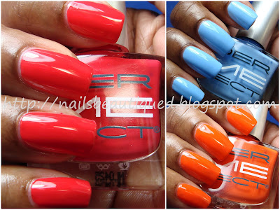 "Dermelect 'Me"" Anti-Aging Colored Nail Lacquers"