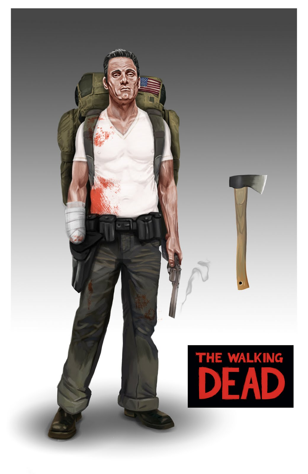 Walking dead comic rick death