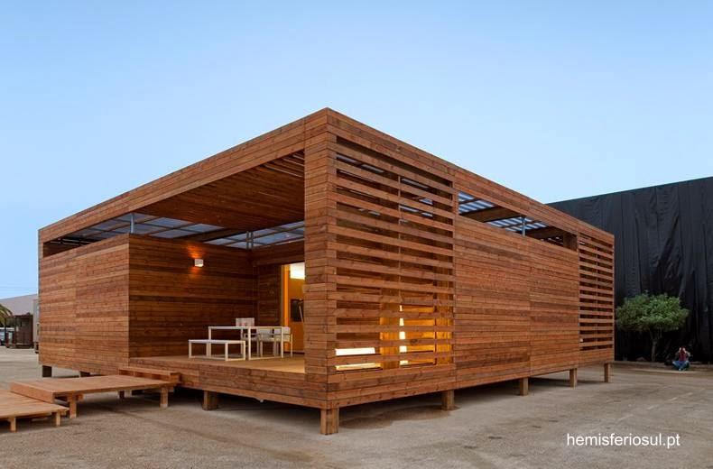 Arquitectura de casas las casas residenciales hechas de - Propiedades de la madera ...