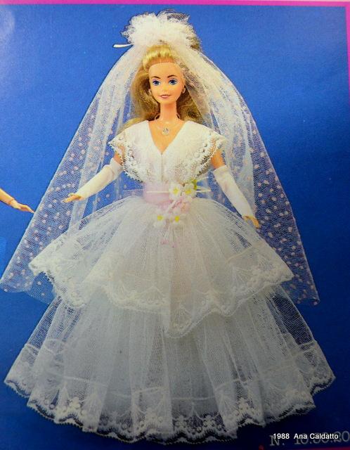 Barbie Noiva ~ Ana Caldatto Coleç u00e3o Catalogo Barbie 1988 Barbie New Wave