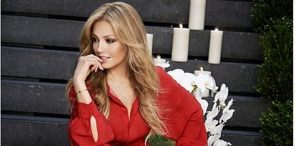 Thalia faz ensaio para a rede de lojas americanas Macy´s