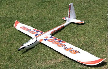 Fly Aerobatic RC Glider Image