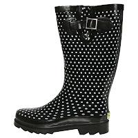 Rain Boots Polka Dots1