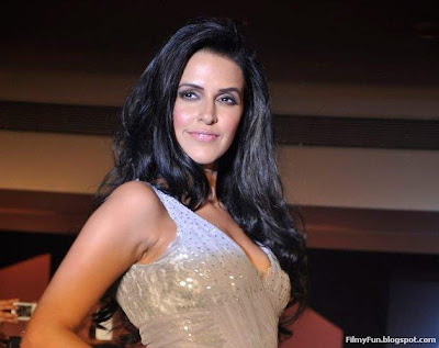 Neha Dhupia walks the ramp