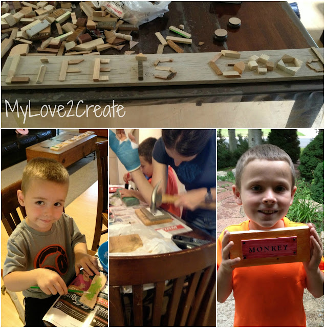 MyLove2Create, Fun with scrap wood