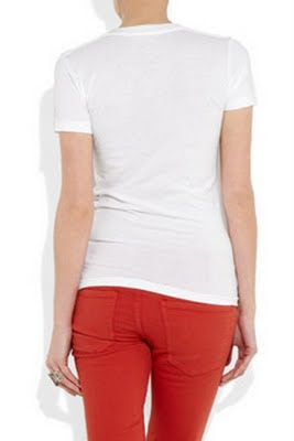 Kate Mouse cotton T-shirt by Simeon Farrar for Japan