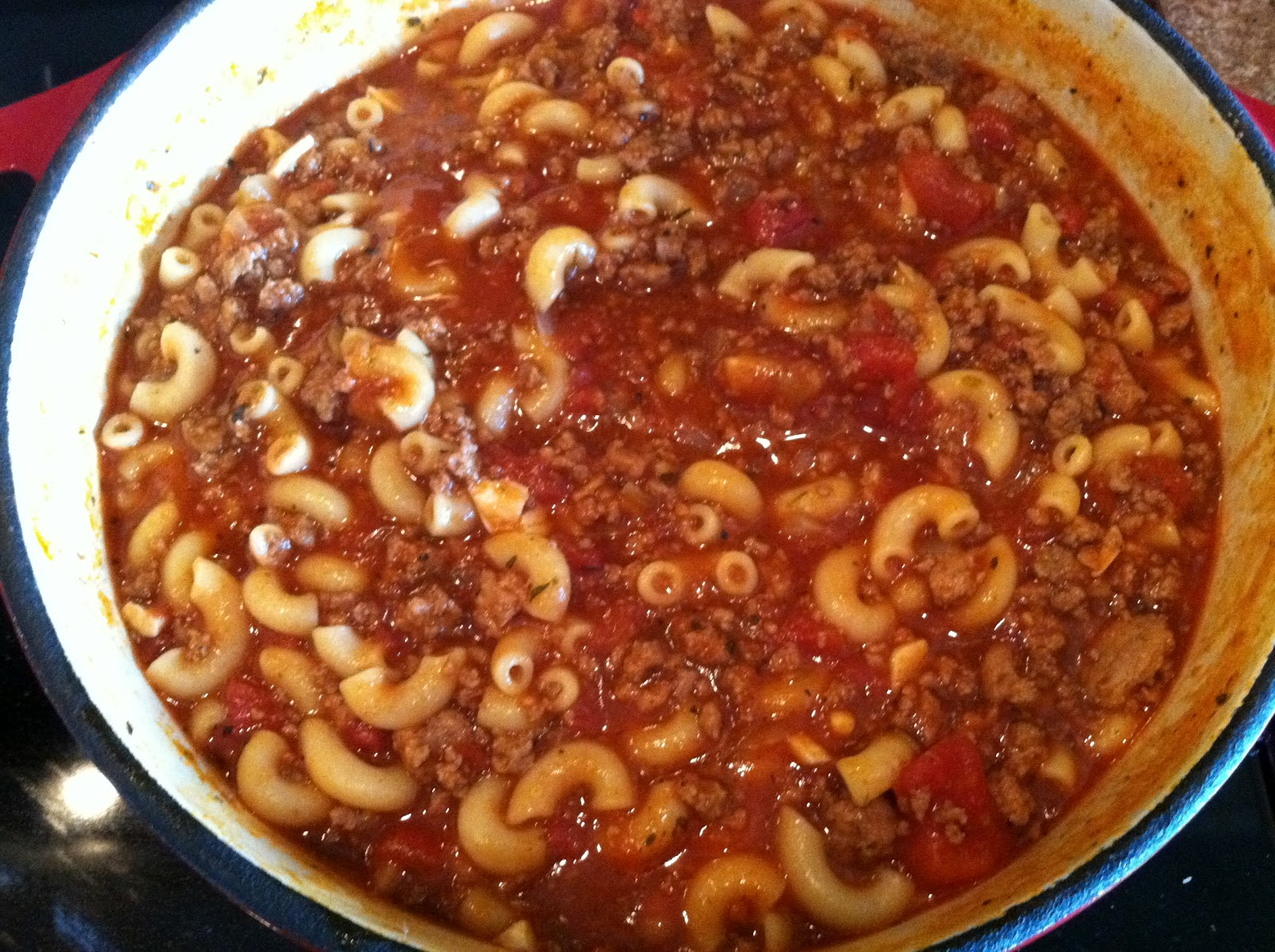Natural Homemade Living: Homemade Goulash