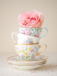 ♥ O Chá é de Sorrisos...