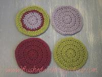 4 Simple Circle Coasters