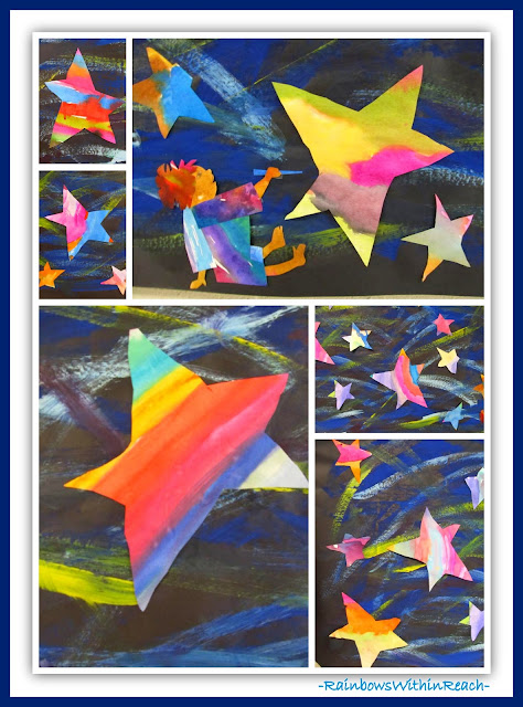 "photo of: ""Draw Me a Star"" by Eric Carle (Paintings in Eric Carle RoundUP via RainbowsWithinReach)"