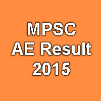 MPSC AE Exam Result 2015