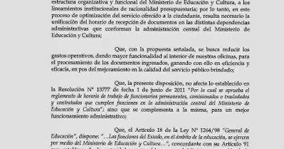 Federacion de educadores de la capital e interior feci for Ministerio del interior horario de atencion