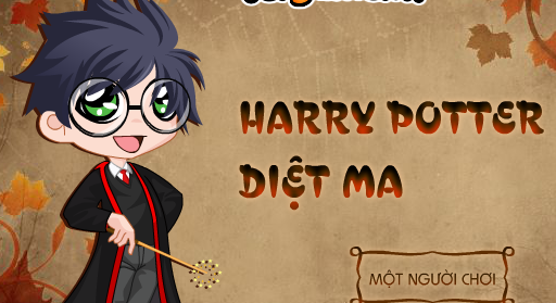 Game Harry Potter diệt ma, chơi game harry potter