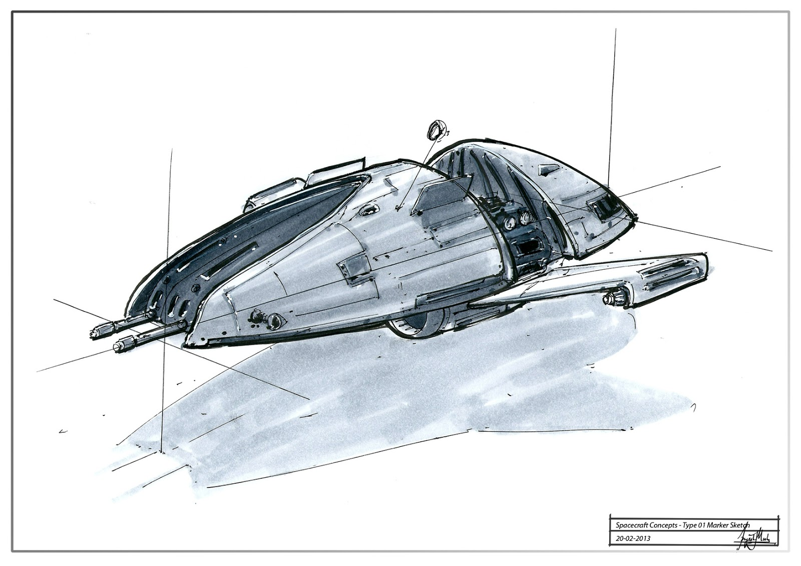 Future spacecraft design the image kid for Conceptual designs