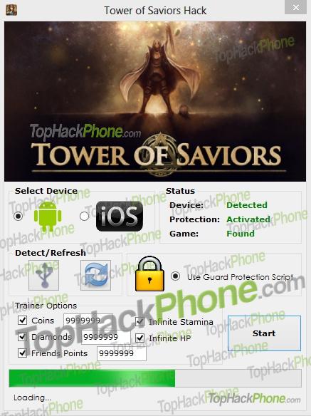 Tower of Saviors cheat