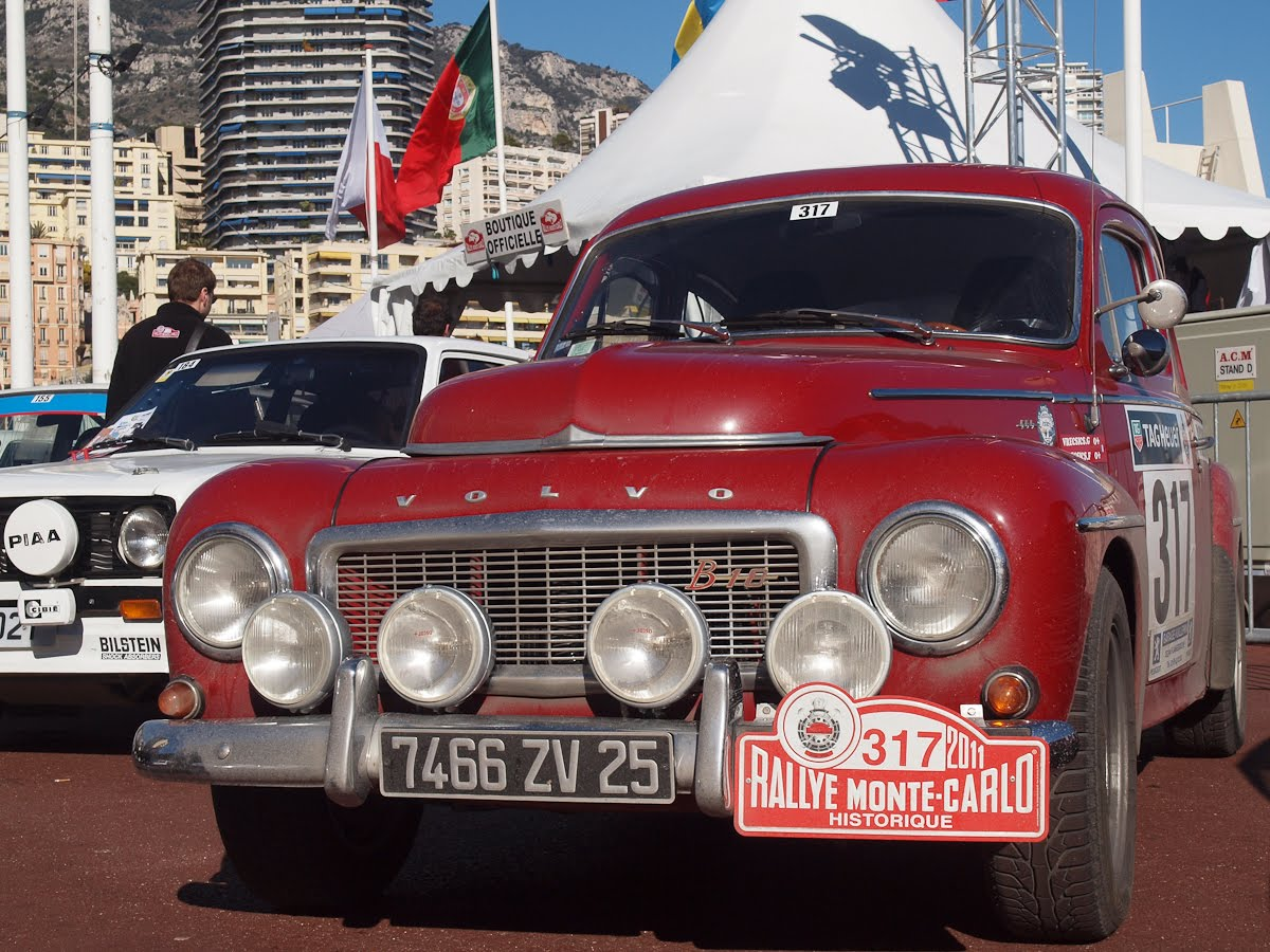 in the Monte Carlo Rally