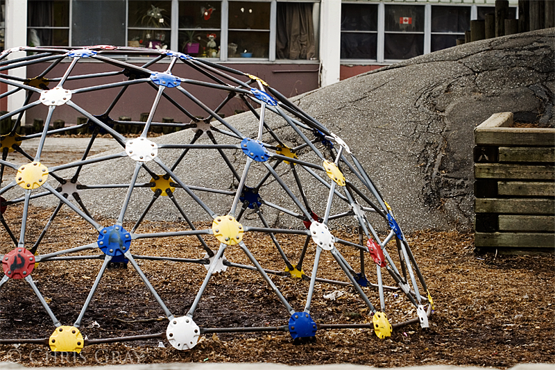 Used Metal Playground Equipment : All american nice girl the excitement of school grade