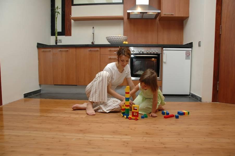 ide dekorasi lantai dapur ide renovasi dapur