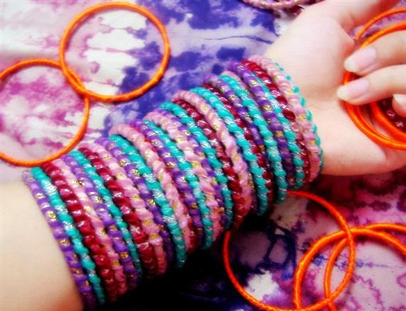 fashion crazyixt: Easy make Homemade bracelets