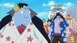 One Piece Episode 543, The Death of a Hero! A Shocking Truth of Tiger!, 英雄の最期 タイガー衝撃の真実, young jinbe with arlong crew