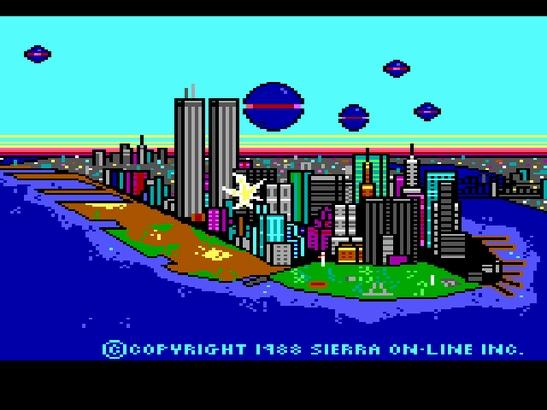 Скриншоты Нью-Йорка в играх до 11 сентября 2001