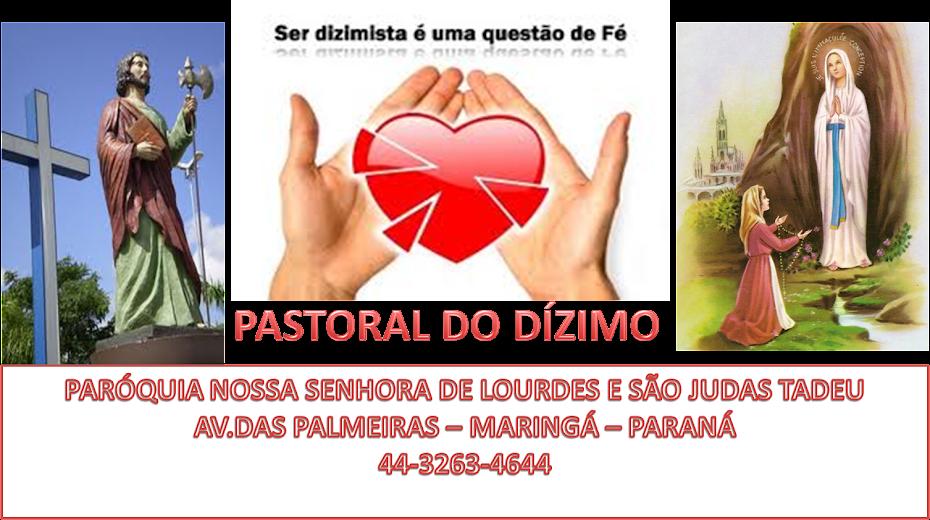 PASTORAL DO DÍZIMO SÃO JUDAS TADEU