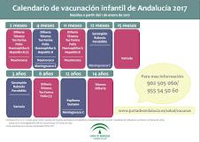 CALENDARIO VACUNAS INFANTILES 2017