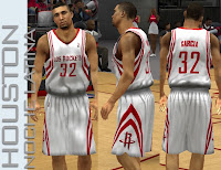 NBA 2K13 Houston Rockets Latin Nights Jersey