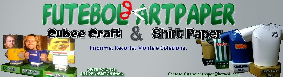 Cubee Craft futebol ArtPaper