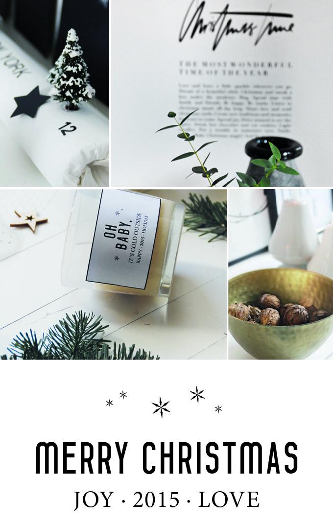 Merry Christmas und ein paar letzte Worte | S T I L R E I C H | BLOG